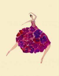 elle danse