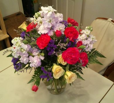"""No Special Reason"" Flowers From My Big Guy"