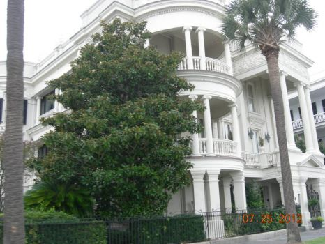 Charleston Triple Porch