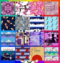 Tokyo Japan 2021 Collage Challenge