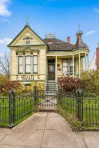 Adorable victorian house