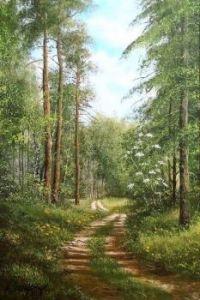 'Road in the woods' by Marek Szczepaniak