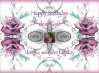 Happy Birthday dear Gail (Gaillou)