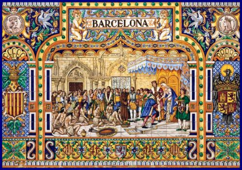 Tiles of Barcelona