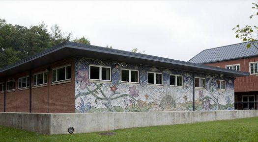 Takoma Park Library Mosaic Wall