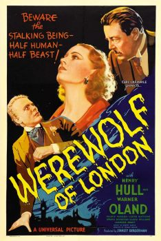 Werewolf of London - movie poster from the 1930's