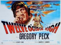 TWELVE O'CLOCK HIGH - 1948  POSTER  GREGORY PECK, DEAN JAGGER