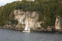 Sailing in Vermont