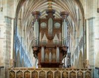 Exeter Cathedral pipe organ - REALLY hard