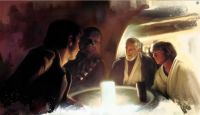 Transport Negotiations - art by Brian Rood