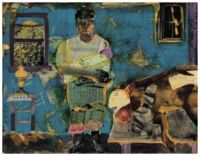 Before the First Whistle  ~ Romare Bearden