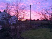 Sunrise over Norfolk