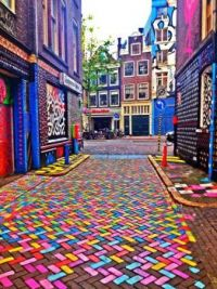 Colorful-Amsterdam by Eliran Tothani