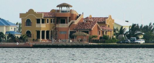 Sylvest Stallone's home on Grand Cayman, Cayman Islands, UK