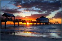 Sunset at Pier 60 on Clearwater Beach, FL
