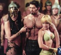 Xena, Ares, and Gabby