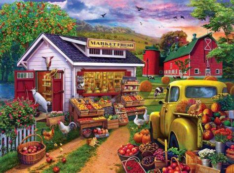 Vintage Farm Stall (728)