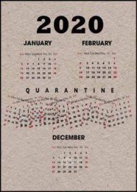 2020 Calendar - updated