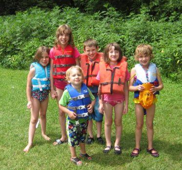 COUSIN'S CANOE TRIP