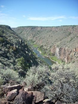 Hiking Wild Rivers Recreation Area, New Mexico