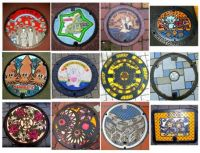 Theme:Round Things - Manhole Covers of Japan