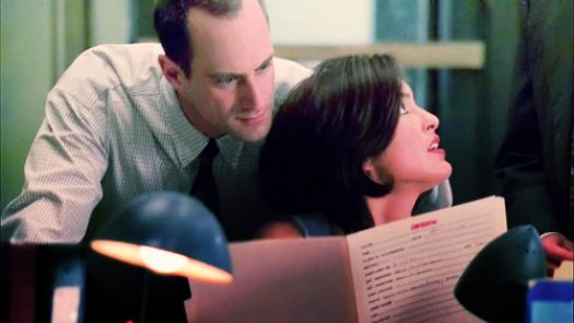 Elliot Stabler and Olivia Benson
