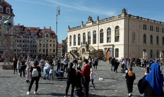 Dresden one year ago