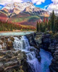 Athabasca Falls, Alberta, Canada