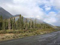 Alaska Highway near Destruction Bay, Yukon