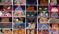 villian eyes