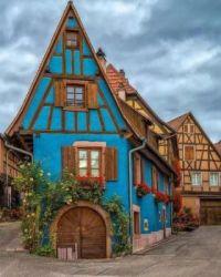 Saint-Hippolyte, Alsace, France.