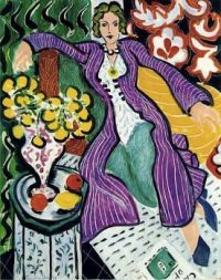 The purple robe - Henri Matisse