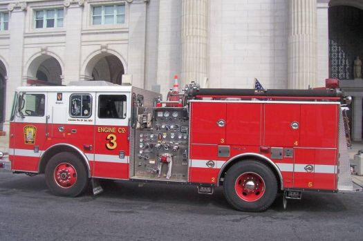 Washington DC firetruck.