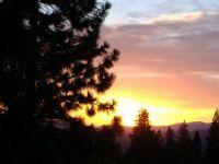 WA sunset, Elk WA