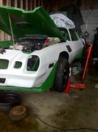 almost ready for the track