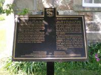 Griswold Church plaque