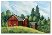 """Red Barn Summer"" by Debbi Wetzell"