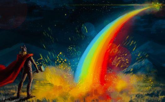 Theme ~ Rainbow (Saturday)