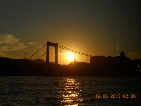 Pic taken while I was on a river cruise down the Danube River