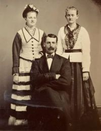 Tintype of Unknown Subjects