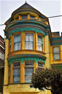 Central street, in the haight-ashbury district, SanFrancisco