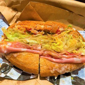 Sicilian (Italiano) Sandwich from Tiny Grocer deli in Austin, Texas