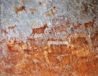 Nswatugi Cave, Matopos National Park, Zimbabwe