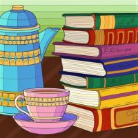 "Bold & Bright Colors Series - ""Books Are Best"""