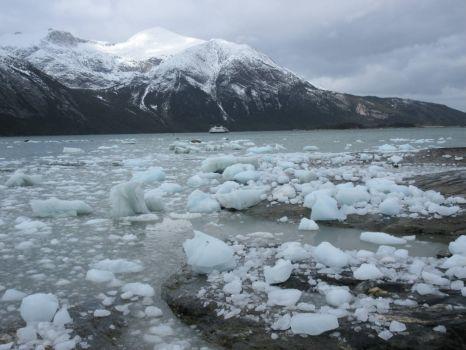 Patagonia fjord