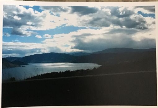 View from the highway - British Columbia