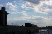 Sky as seen from the Whitney Museum...