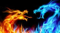 dragon fire and ice