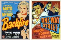 Backfire and One Way Street ~ 1950