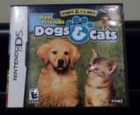 Nintendo DS Dogs & Cats game